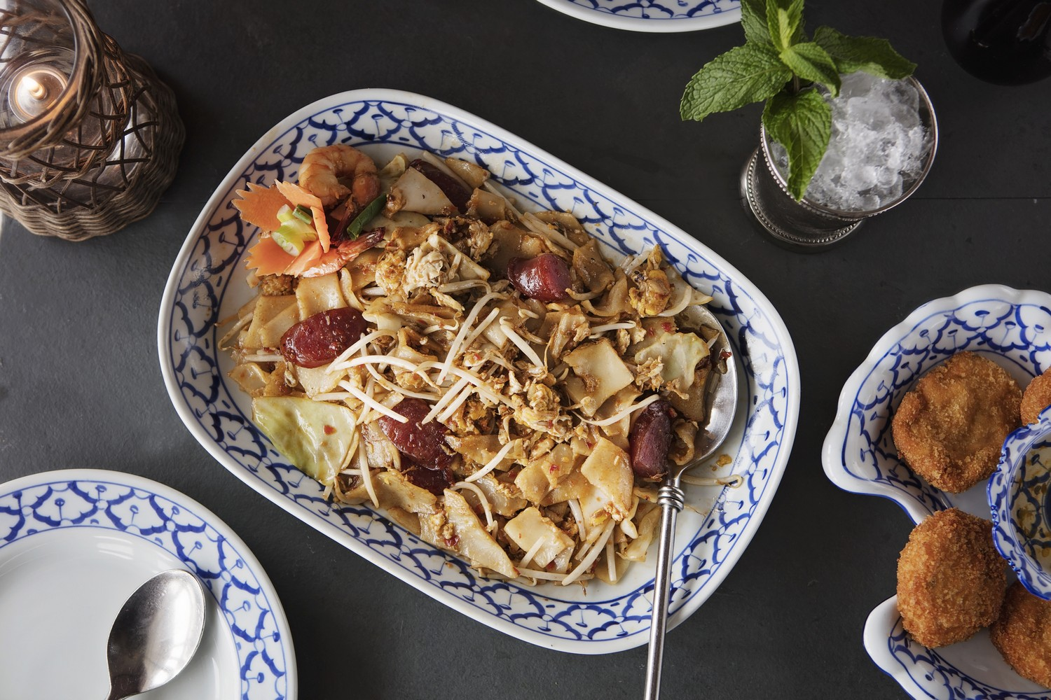 Char-Kway-Teow-and-Shrimp-Cakes-resized